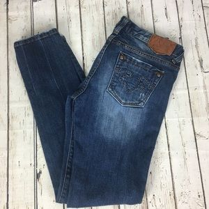 Rerock for Express Skinny Low Rise Jeans Size 8